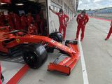 Pirelli completes first day of 18-inch tyre testing at the Hungaroring