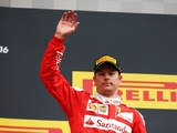 Raikkonen thankful for big gift of podium finish