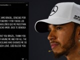 OOPS: Hamilton thanks Brazilian fans... in Spanish