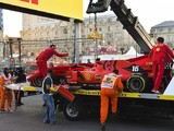 "Leclerc 'deserved' to miss out on Baku Q3 after ""stupid"" mistake"