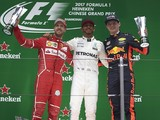 F1 world champion Lewis Hamilton reveals his top three rivals