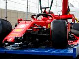 Vettel not hurt, but not happy, after 'scary' crash