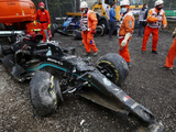 "Bottas' Mercedes ""damaged beyond repair"""