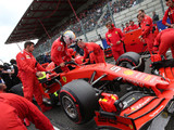 Vettel can't explain lack of pace to Leclerc
