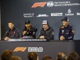 Drivers' press conference Austin