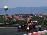 Verstappen sets opening pace in Hungary