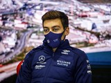 """Russell was """"almost crashing"""" in Sochi pits after being first to take slicks"""