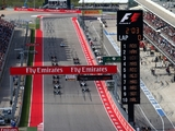 The United States GP timetable