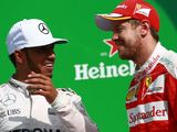 Sebastian Vettel: Lewis Hamilton was the better man in 2017