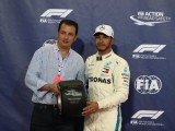 "Lewis Hamilton: ""The qualifying session today was great, it was a lot of fun"""