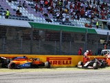 Stewards issue warning to 12 drivers over restart chaos