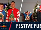 Video: Festive fun with Max Verstappen and Alexander Albon