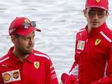 Sebastian Vettel: Charles Leclerc will put me under pressure all season