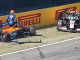 What happened in F1's 'scary' big crash?