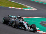Hamilton sets ominous pace as first test comes to an end