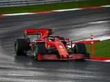 Vettel: Switch to slicks could have given Ferrari chance to win