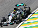 Hamilton ahead in opening practice at Brazil