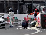 Bottas' car 'extensively damaged' after heavy Q3 crash