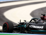 """Hamilton takes aim at media """"myth"""" over Mercedes chassis after securing P2 for French GP"""