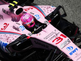 Force India adds more pink... for charity