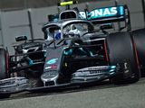 Bottas fastest but collides, Hamilton second