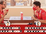 Video: Vettel and Leclerc play 'Guess Who' F1 edition