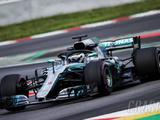 Bottas leads second morning of Barcelona F1 test