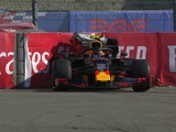 Albon out in Q1 after heavy crash