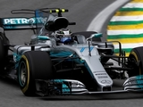 Bottas secures pole after Hamilton crashes