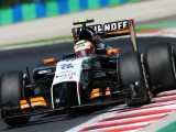 Perez hindered by hydraulics leak