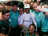 Mercedes breaks own record with 17th win