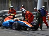 Haryanto misses long runs due to crash