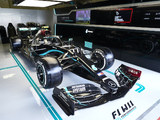 Photos: Mercedes new livery breaks cover in Austria