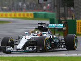 Hamilton tops wet-dry first practice at Melbourne