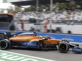 Norris 'thanks God' he escaped contact in Monza qualifying chaos