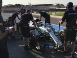 Lewis Hamilton completes 114 laps during Pirelli tyre test at Paul Ricard