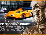 Video: McLaren's tribute to founder Bruce McLaren