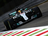 FP1: Hamilton leads Merc one-two at murky Monza