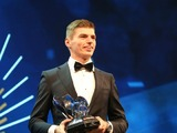 Max Verstappen picks up two awards at FIA prize giving gala