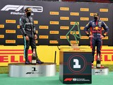 Hamilton: 'Weird' podium boxes over the top