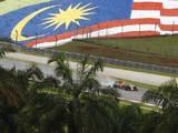 Malaysian Grand Prix: Red Bulls lead Alonso in wet practice one