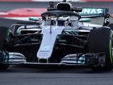Mercedes set morning pace on Day Two