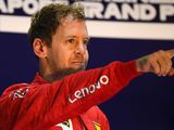 Vettel took encouragement from fan letters during slump