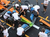 McLaren runs Mercedes-style nose in F1 Tuscan GP practice