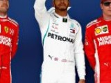 Hamilton beats Ferrari to pole