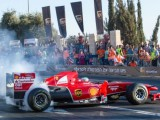 Fisichella takes Ferrari back to Jerusalem