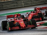 Vettel: Leclerc shouldn't fret over podium-losing error
