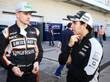 Outgoing Force India F1 driver Hulkenberg helped Perez thrive