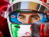 Giovinazzi warned after FP1 incident