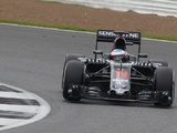 Alonso stays top in test at rainy Silverstone